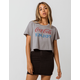 RECYCLED KARMA Coca-Cola Womens Crop Tee