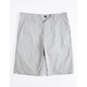 DICKIES Chino Gray Boys Hybrid Shorts