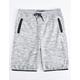 BROOKLYN CLOTH Gray Boys Sweat Shorts