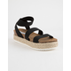STEVE MADDEN Kimmie Womens Platform Espadrille Sandals
