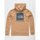 THE NORTH FACE Red Box Khaki Mens Hoodie