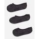 VANS 3 Pack Heather Black Womens Canoodle Socks