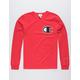 CHAMPION C Applique Logo Red Mens T-Shirt