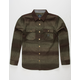 ROARK Nordsman Dark Brown Mens Flannel Shirt