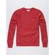 CHAMPION Reverse Weave Red Mens Sweatshirt