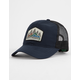 HIPPYTREE Heritage Navy Mens Trucker Hat