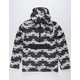 THE NORTH FACE Campshire Black & White Mens Hoodie