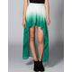 FULL TILT Ombre Hi Low Skirt