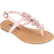 SODA Perforated Flower Toddlers Sandals