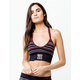 TOMMY HILFIGER Seamless Triangle Navy Bralette
