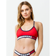 TOMMY HILFIGER Seamless Scoop Red Bralette