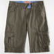 BROOKLYN CLOTH Mens Slim Cargo Shorts