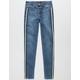 CELEBRITY PINK Side Stripe Girls Skinny Jeans