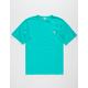 CHAMPION Reverse Weave Teal Green Mens T-Shirt
