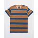 BLUE CROWN Rincon Stripe Carmel Mens T-Shirt