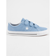 CONVERSE One Star Pro 3v Ox Light Blue & White Velcro Shoes
