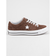 CONVERSE One Star Ox Premium Suede Chocolate & White Low Top Shoes