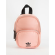 ADIDAS Originals Faux Leather Pink Mini Backpack