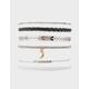 FULL TILT 6 Pack Braid & Moon Bracelets