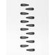 FULL TILT 12 Piece Black Hair Pins