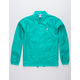 CHAMPION Teal Blue Mens Coach Jacket