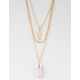 FULL TILT Crystal Layered Necklace