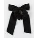 FULL TILT Black Bow Scrunchie