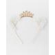 FULL TILT Crown & Fuzzy Cat Ear Headband