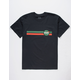 RSQ Nasty Space Black Mens T-Shirt
