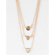 FULL TILT Triangle Layered Necklace