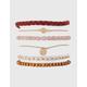FULL TILT 6 Pack Braid & Wood Bracelets
