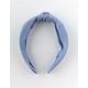FULL TILT Striped Top Knot Blue Headband
