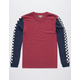 CHARLES AND A HALF Checkered Stripe Mens T-Shirt