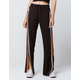 SKY AND SPARROW Side Stripe Wide Leg Pants