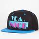 YEA.NICE South Beach Mens Snapback Hat