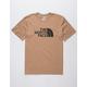 THE NORTH FACE Half Dome Khaki Mens T-Shirt