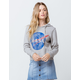 MIGHTY FINE NASA Womens Crop Hoodie