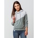 FULL TILT Fleece Color Block Womens Hoodie