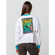 MAUI AND SONS Twisted Womens Crop Tee