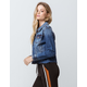 RSQ Frayed Womens Ripped Denim Jacket