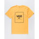 VANS Boxed In Gold Mens T-Shirt