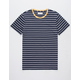 RETROFIT Trip Stripe Navy Mens T-Shirt