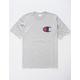 CHAMPION C Applique Logo Heather Mens T-Shirt