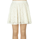 FULL TILT Girls Crochet Skater Mini Skirt