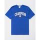 CHAMPION 1919 Logo Blue Mens T-Shirt