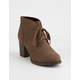 SODA Ripley Brown Womens Heeled Boots