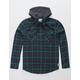 RVCA Good Hombre Mens Hooded Flannel Shirt