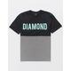 DIAMOND SUPPLY CO. Two Tone Mens T-Shirt
