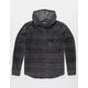 BILLABONG Furnace Pewter Mens Hooded Flannel Shirt