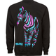 YEA.NICE Zebra Stripes Mens Sweatshirt